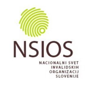 Logotip Nacionalnega sveta invalidskih organizacij Slovenije